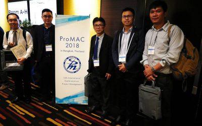 คณะเทคโนโลยีสารสนเทศ สถาบันเทคโนโลยีไทย-ญี่ปุ่น ได้ร่วมกับ Society of Project Management (SPM), Japan จัดประชุมวิชาการนานาชาติ (ProMAC2018)
